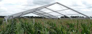 Tent sheds and shelters for agriculture