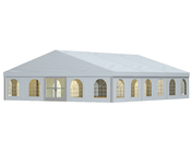 RÖDER Large Tents B-TENTS combine space, safety, efficiency and economy into a flexible, expandable tent system.