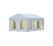 "The stability, the weather resistance and the fast construction make this party tent a ""must"" program for tent rental companies all over the world."
