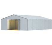 Rendering S-Line Leichtbauhalle Industriezelte Industry and Trade Logistik Lagerung